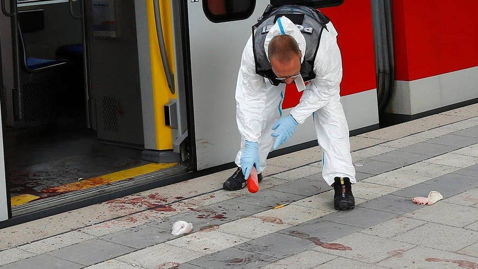 1 killed, 3 hurt in stabbing attack at German train station