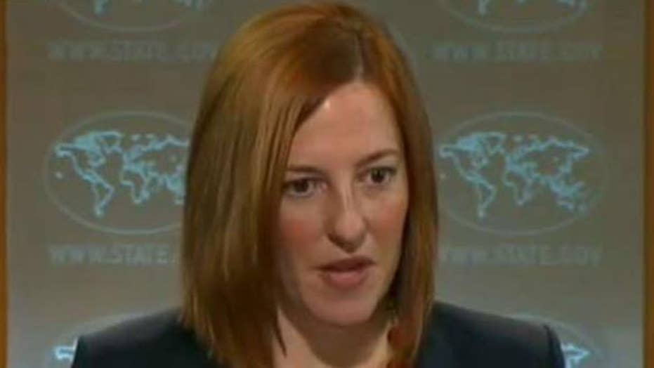 Iran questions removed from State Department video