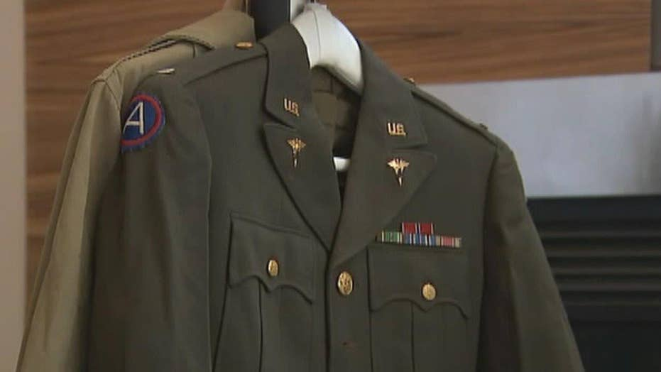 Veteran's lost WWII mementos found, returned to family