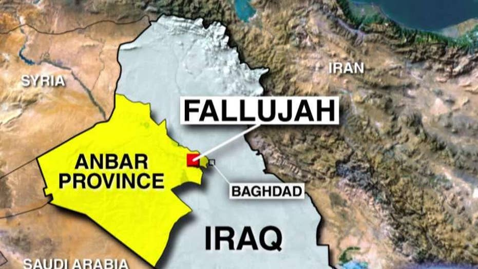US military advisers help plan recapture of Fallujah