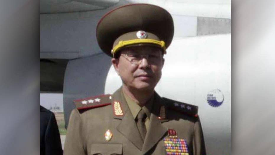 'Executed' military chief attends North Korean rally