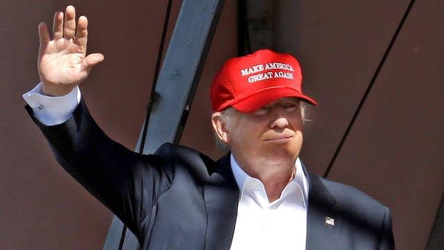 Donald Trump talks West Virginia, Nebraska wins