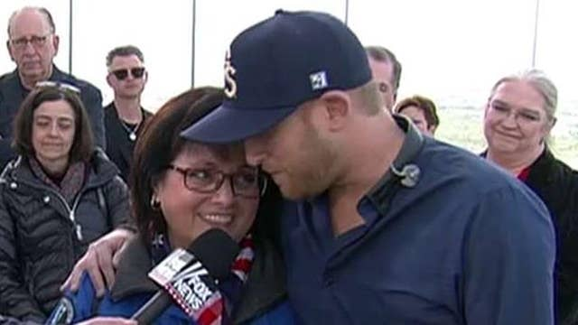 Cole Swindell meets with men, women who lived through 9/11