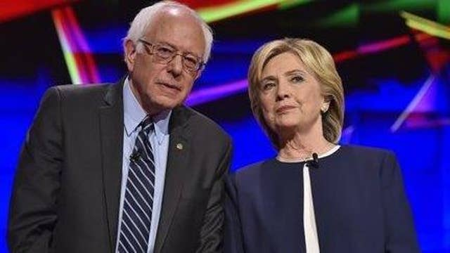 Questions about Sanders' strategy as Clinton maintains lead