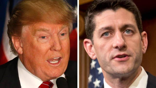 What should be discussed during Trump's meeting with Ryan?