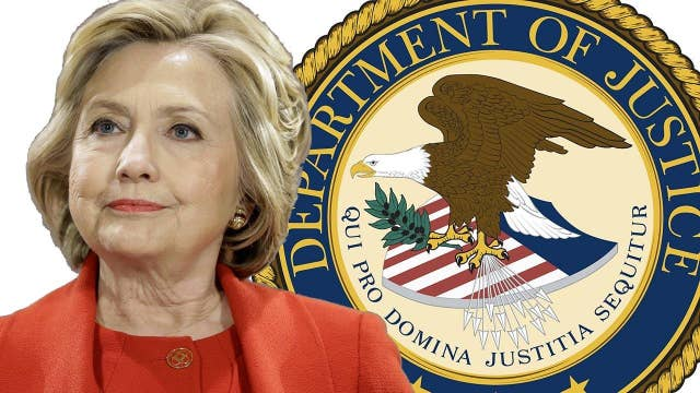Clinton takes in thousands of dollars from DOJ employees