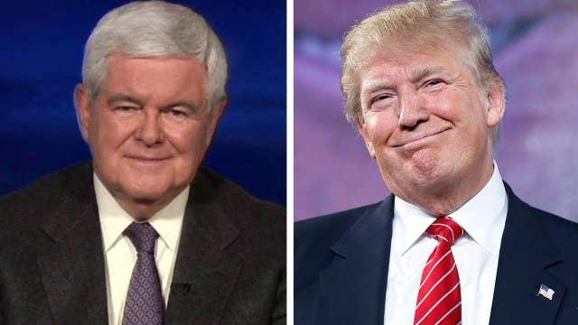 Newt Gingrich endorses Donald Trump