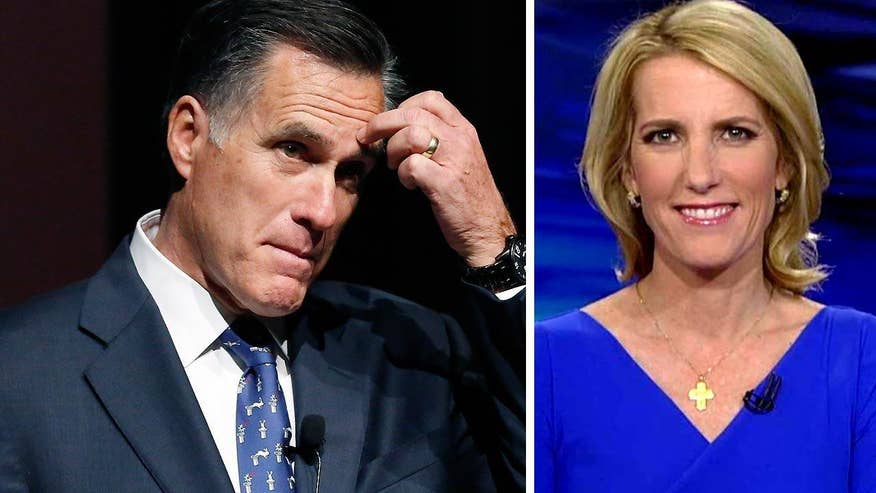 Laura Ingraham says Trump Tax returns only matter to Hillary, and maybe Mitt Romney