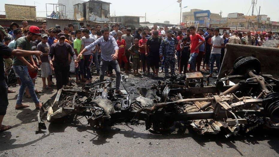 ISIS claims responsibility for deadly Baghdad car bombing