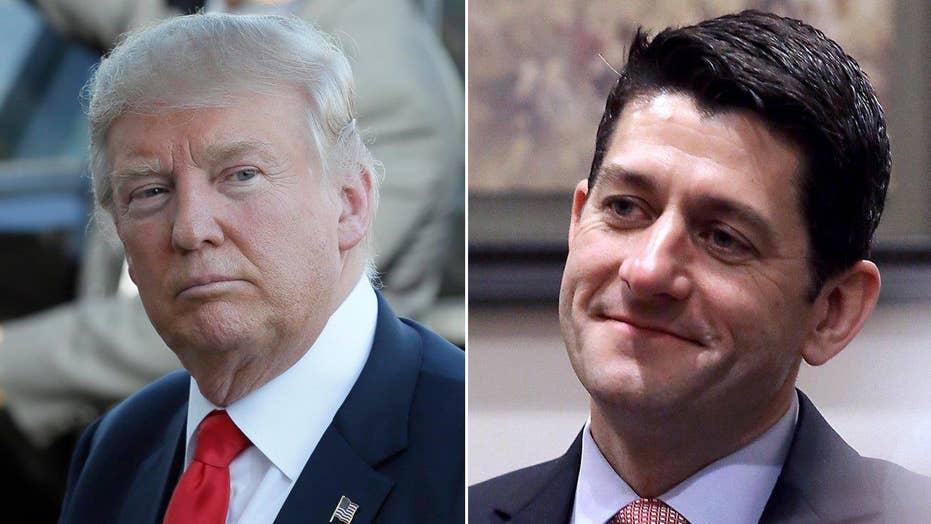 Donald Trump vs. Paul Ryan: Who has the upper hand?