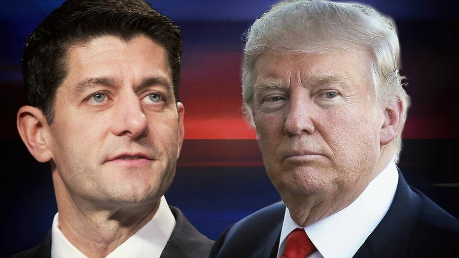 Trump campaign downplays expectations for meeting with Ryan
