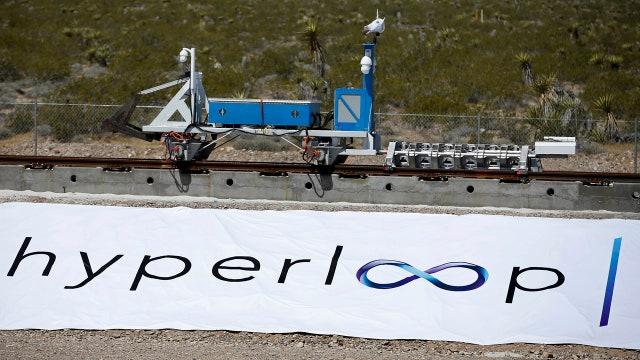 Hyperloop transportation tech has first successful test run