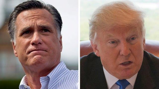 Mitt Romney slams Trump for refusing to release tax returns