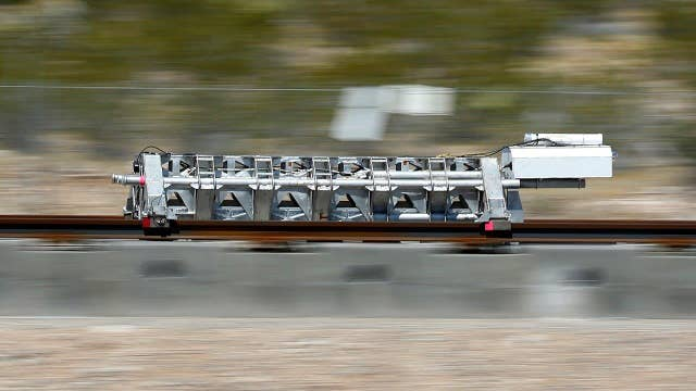 Successful Hyperloop test sets stage for high-speed travel