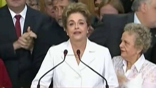 Brazilian lawmakers impeach president