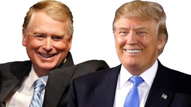 Former VP Dan Quayle endorses Donald Trump for president