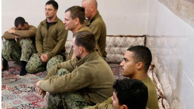 Navy commander fired after sailors captured by Iran