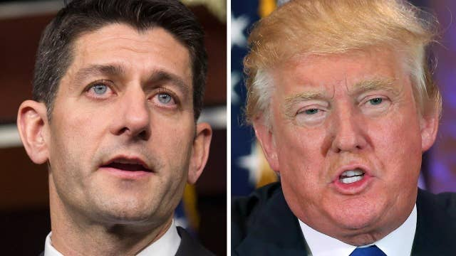 Will Trump and Ryan be able to bridge their differences?
