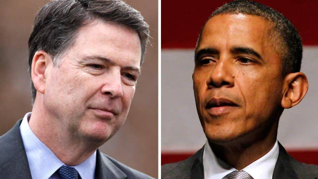 FBI chief breaks ranks with Obama over the Ferguson effect
