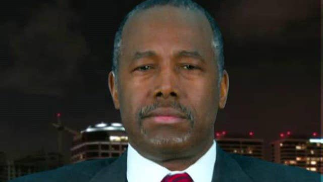 Carson: Former GOP candidates should meet and work together
