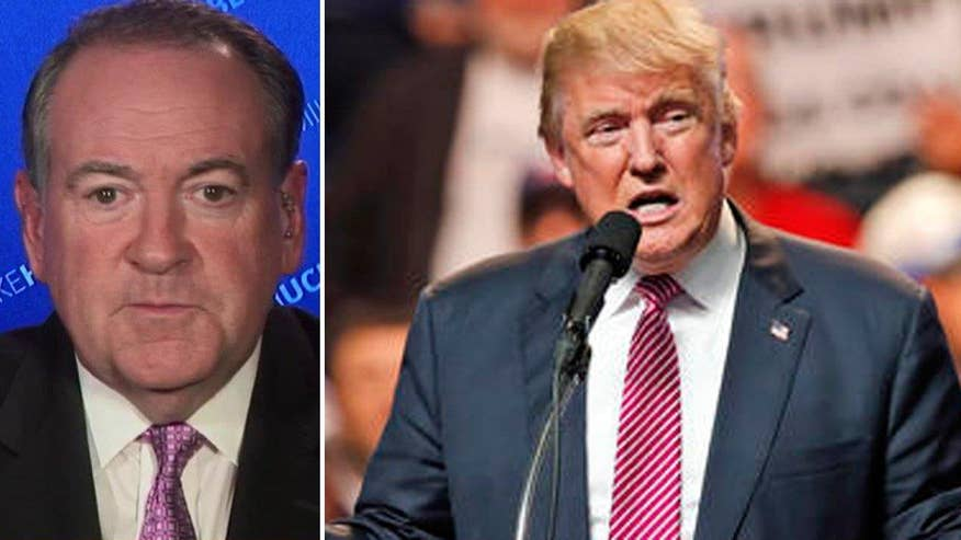 Former governor and presidential candidate Mike Huckabee goes 'On the Record' on why Donald Trump is making the smart move not to release his tax records, despite demands