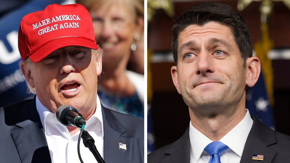 Reading between the lines of Trump's meeting with Paul Ryan