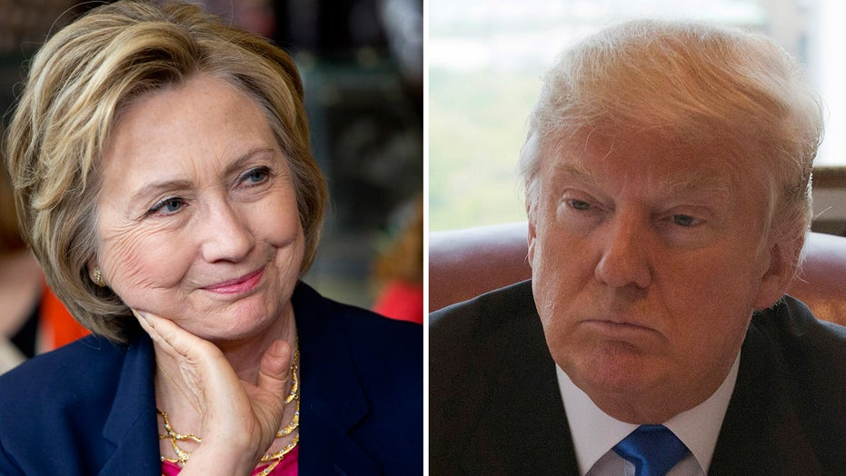 Clinton jabs Trump over refusal to release his tax returns