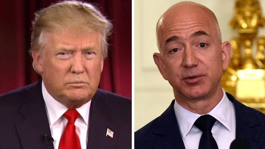 Trump: Amazon CEO using Washington Post for political power
