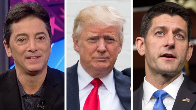 Scott Baio reacts to Donald Trump's meeting with Paul Ryan