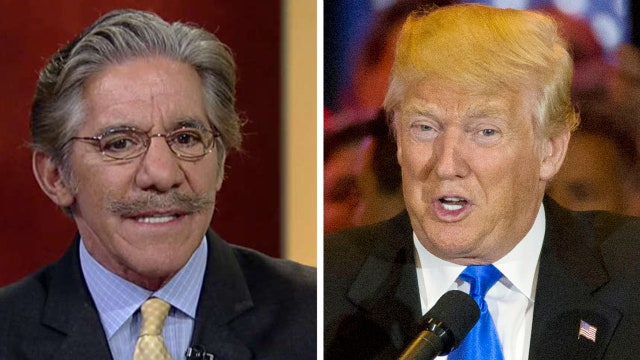 Geraldo: I think you're going to see a different Donald