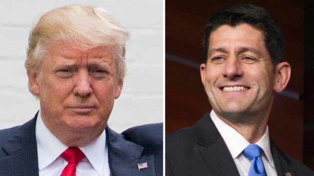 Halftime Report: Trump and Paul Ryan's 'arranged marriage'