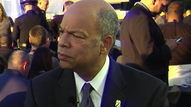 Jeh Johnson on terror, race incidents and cops' challenges