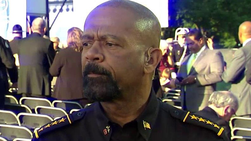 'On the Record: Heroes in Blue': FBI Director James Comey says viral video has blunted police work. Milwaukee County Sheriff David Clarke sounds off on whether he agrees and how much the Obama administration has played a role in handcuffing cops