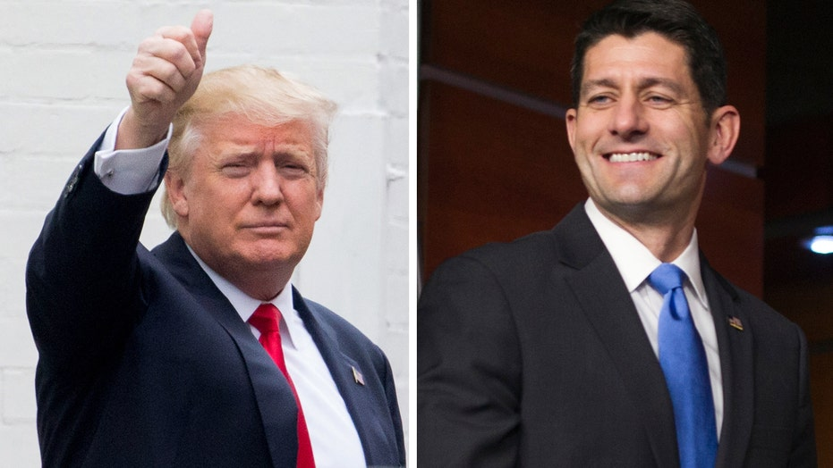 Trump: We had a good meeting yesterday. Ryan's a good guy