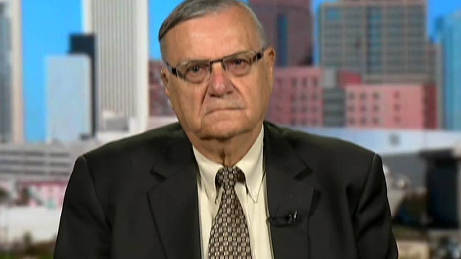 Arpaio on immigration: Trump has the guts to do something