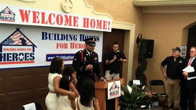 Custom property a life-changing gift for a military hero