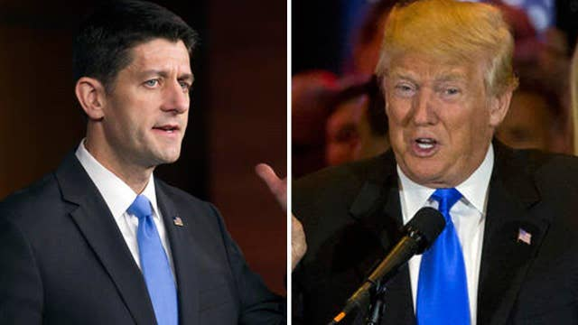 The Trump-Ryan truce: What's genuine and what's theater?