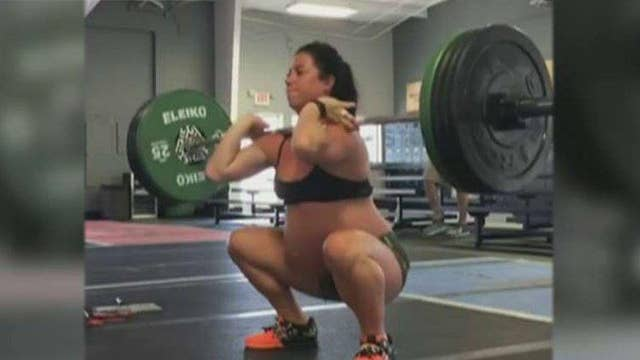 Fitness instructor defends lifting 200 pounds while pregnant