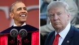 Obama target's presumptive GOP nominee's policies during speech at Rutgers University graduation