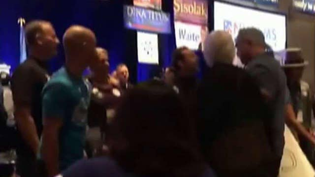 Chaos caught on tape at Nevada State Democratic Convention