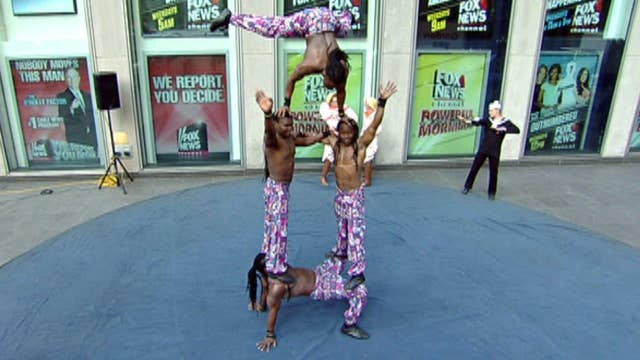 Big Apple Circus comes to 'Fox & Friends'
