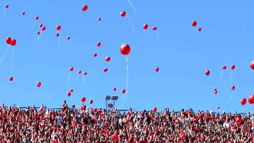 Activist wants federal court to ban balloon release at University of Nebraska football games