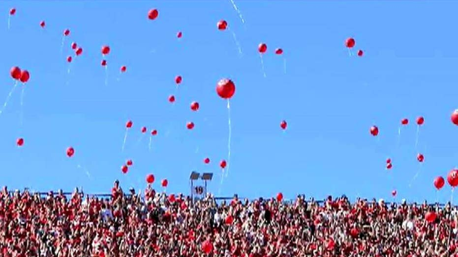 Lawsuit calls for end to Nebraska football tradition