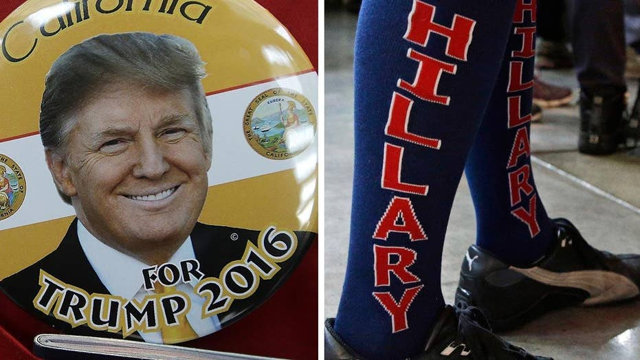 How will Trump campaign against Hillary Clinton?