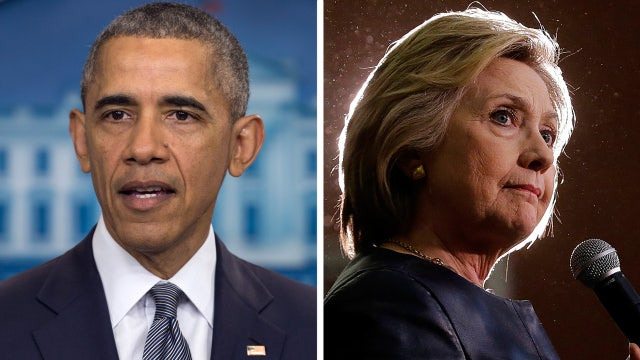 Is Obama concerned about Hillary losing the election?