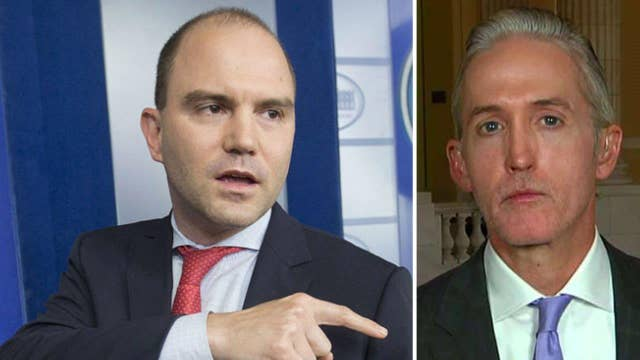 Rep. Gowdy sounds off on Obama aide snubbing Iran hearing