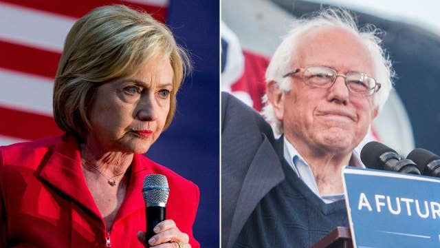 Sanders hopes to upset Clinton in Oregon primary