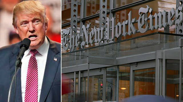 Halftime Report: New York Times attacks Trump on women