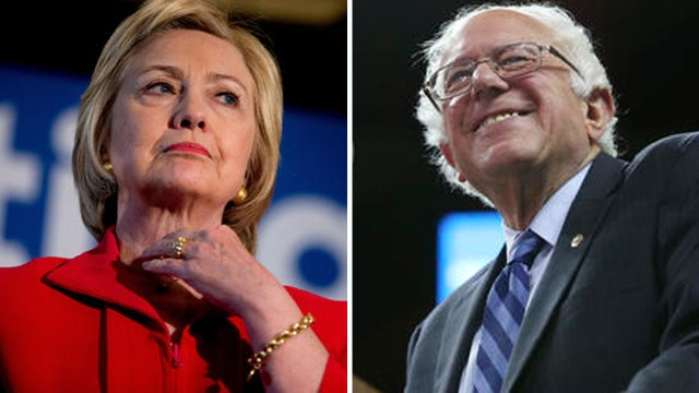 Clinton tries to dispatch Sanders despite tough primary race
