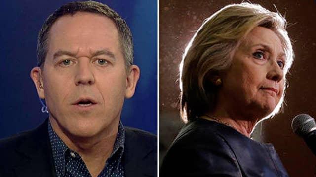Gutfeld: Hillary Clinton plays the man card